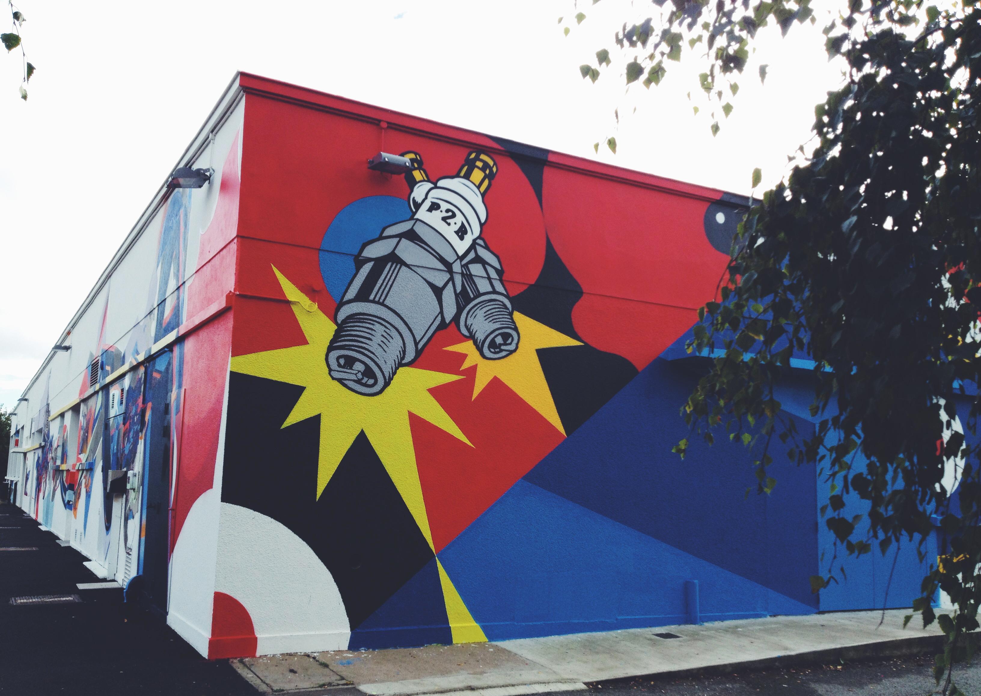 Graffiti rennes breizhsocialblog for Jardin moderne rennes